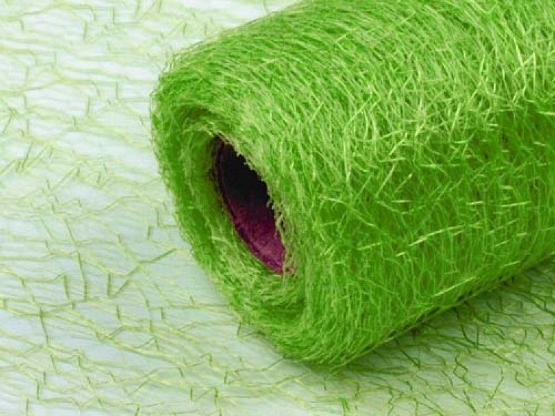 Organza 36cm spider zelená