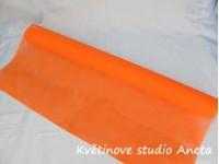 Vlizelín oranžový sytý...