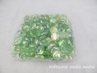 Skleněné čočky zelené...