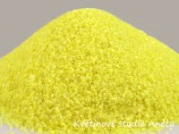Dekorativní písek jemný žlutý 500g...