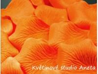 Okvětní plátky oranžové syté 12g...