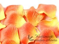 Okvětní plátky oranžovo žluté 12g...