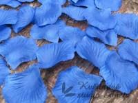 Okvětní plátky tmavě modré EKO 1000ks...