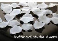 Okvětní plátky bílé  EKO 1000ks