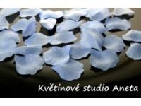 Okvětní plátky modré sv. 100ks...