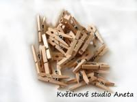 Kolíček dřevěný přírodní mini...