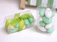 Krabička na svatební mandle plast...