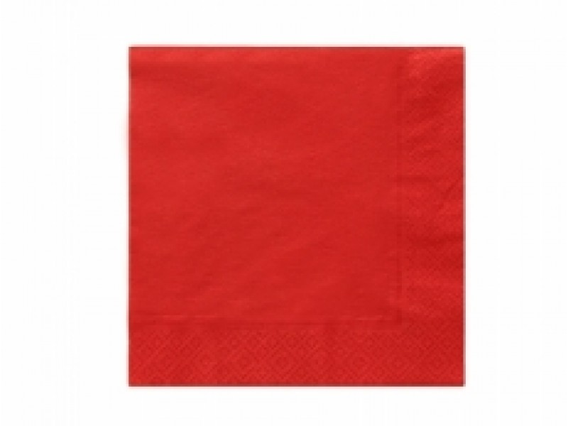 Ubrousky červené 20ks