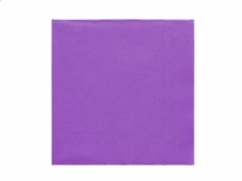 Ubrousky fialové 20ks