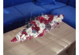 Dlouhá kytice -vhodný dárek například k významnému jubileu ! Je možné různé barevné provedení. Ideální na konferenční stolek. 10