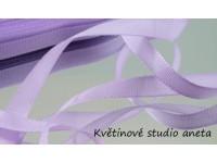 Stuha taftová fialová lila 0,9cm...