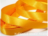 Stuha saténová oranžovožlutá 0,6cm...