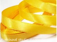 Stuha saténová žlutá 0,6cm...