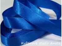 Stuha saténová královky modrá 2,5cm...