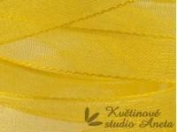 Stuha šifonová žlutá 0,6cm EKO