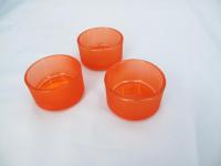 Svícínek na čajovou svíčku oranžový...