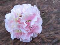 Květ hortenzie růžový...