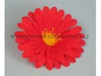 Květ gerbera červená...