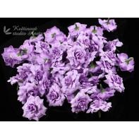 Květ růže 4cm fialový plny ...