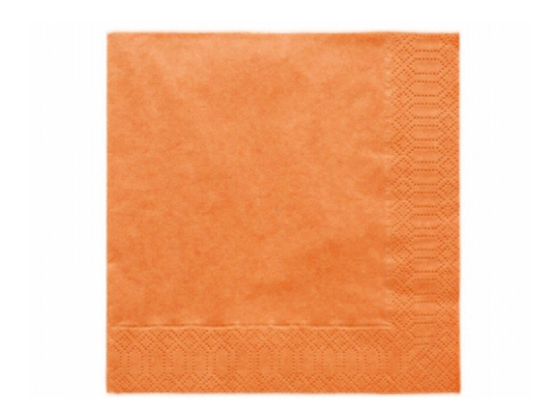 Ubrousky  oranžové 20ks