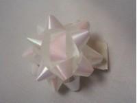 Hvězdička s lepkou bílá perleť ...