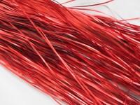 Vánoční lamety červené matné...