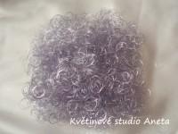 Andělské vlasy fialové...