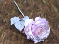 Třpytivá růže  růžová...