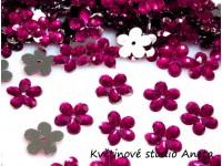 Květinka plast růžová tmavá EKO...