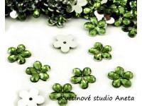 Květinka plast zelená trávově EKO...