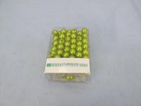Korálky 10mm/120ks zelené...