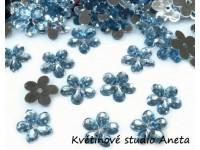 Květinka plast modrá světlá...
