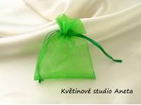 Šifonový pytlíček zelený ...