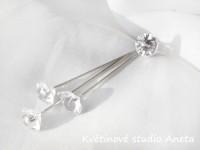 Špendlík s diamantem malý...