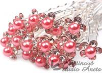 Vlásenka květinka perlička růžová sytá...